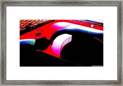 Trigger Framed Print by Jorge Estrada