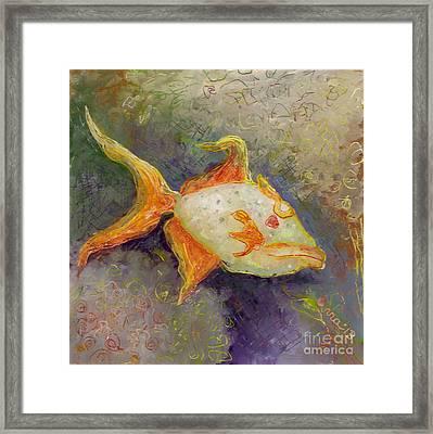 Triggerfish Framed Print by Anna Skaradzinska
