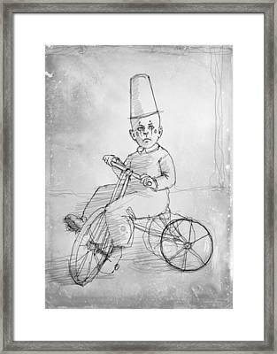 Trike Framed Print by H James Hoff