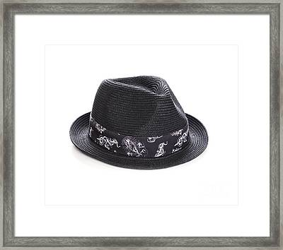 Trilby Hat Framed Print by Colin and Linda McKie