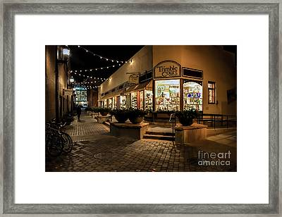 Trimble Court Framed Print by Jon Burch Photography