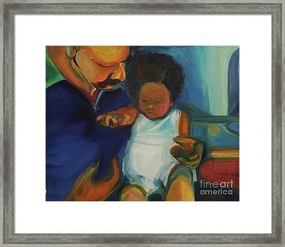 Trina Baby Framed Print