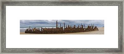 Trinculo Panorama Framed Print by Heather Provan