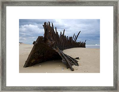 Trinculo Wreck Framed Print by Heather Provan