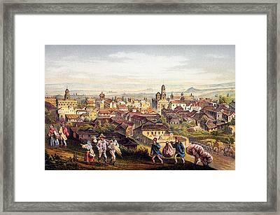 Trinidad, Cuba, 1840 Framed Print