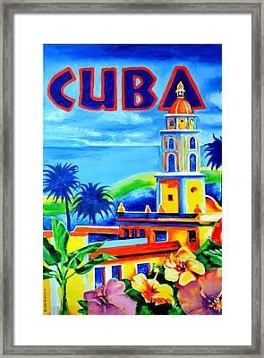 Trinidad Cuba Framed Print