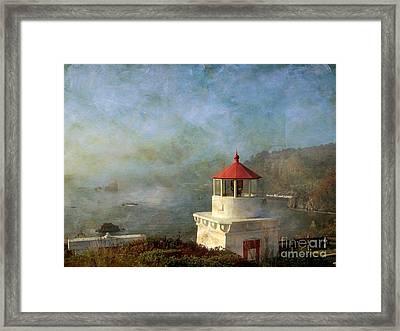 Trinidad Light House Framed Print