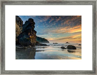Trinidad Sunset Framed Print by Randy Wood