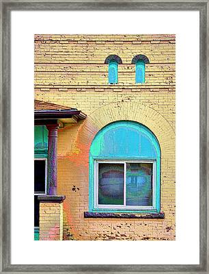 Trinidad Turquoise  Framed Print