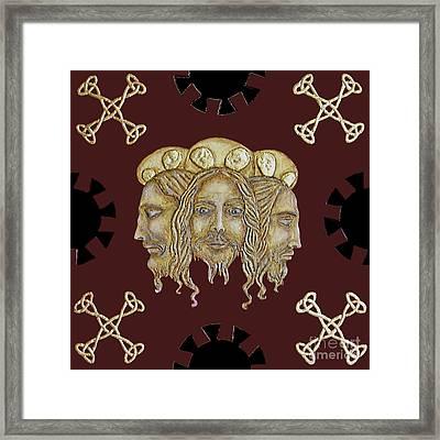 Trinity Framed Print by Anna Maria Guarnieri