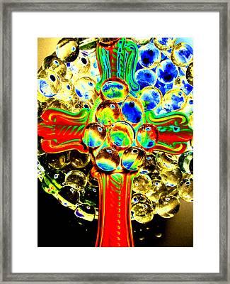 Trinity Cross Framed Print