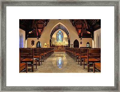 Trinity Episcopal Church Framed Print by Dan Myers