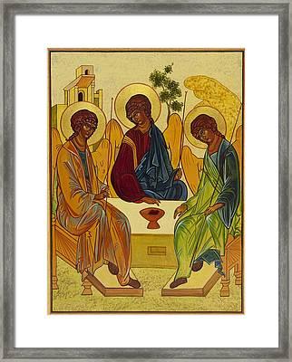 Trinity Framed Print by Gail Schimberg