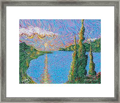 Trinity Lake 2 Framed Print by Stefan Duncan