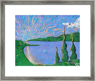 Trinity Lake Series Framed Print by Stefan Duncan