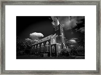 Trinity Lutheran Church Framed Print