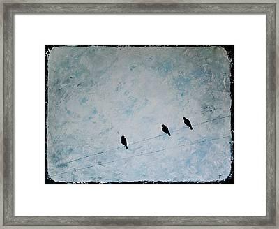 Trio Framed Print by Jesska Hoff