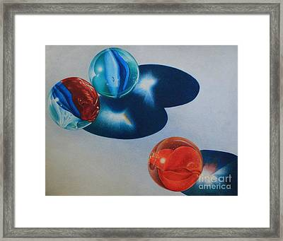 Trio Framed Print by Pamela Clements