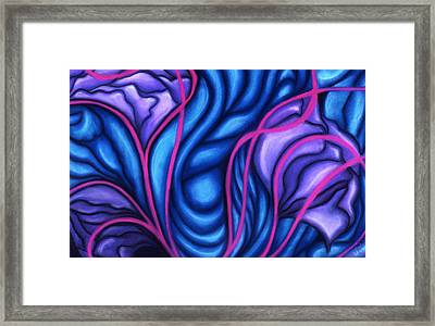 Framed Print featuring the pastel Trio by Susan Will