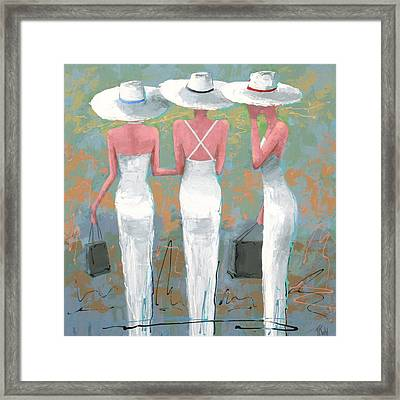 Trio Framed Print by Thalia Kahl