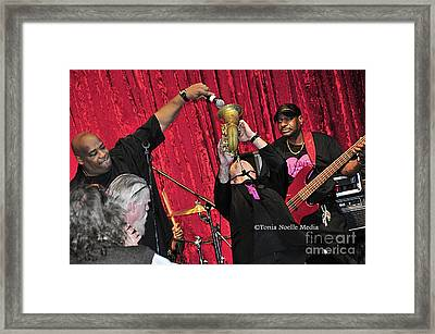 Trio Throwdown With Andy Stokes And Patrick Lamb And Randy Monroe Framed Print
