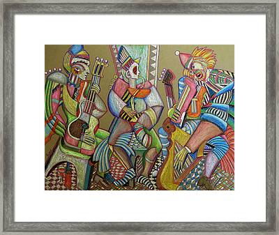 Trio To The Throne Framed Print by Anatoliy Sivkov