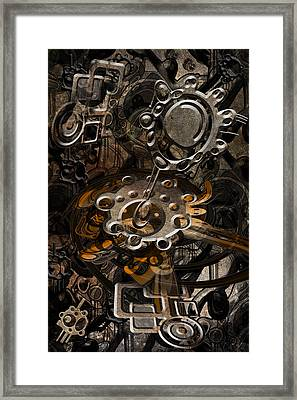 Trip 9 Framed Print by Andy Walsh