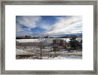 Trip To Baldwin City Kansas Framed Print by Liane Wright