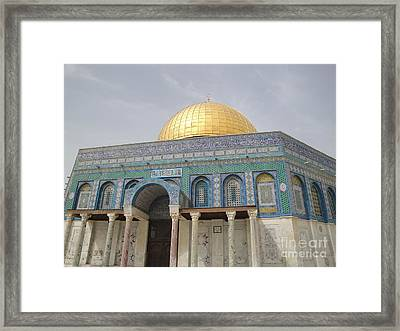 Trip To Isreal  Framed Print by Jeff Pickett