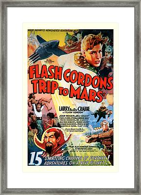 Trip To Mars 1938 Framed Print