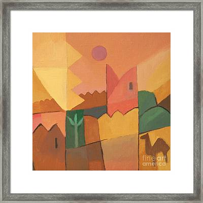 Trip To Tunisia Framed Print