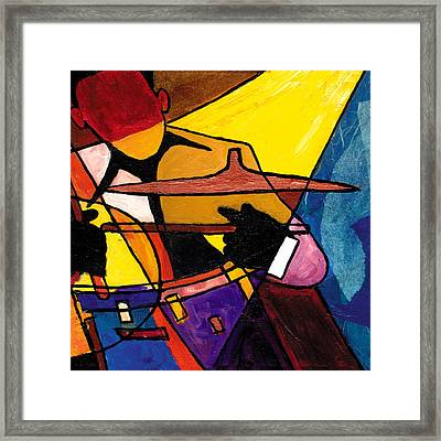 Trip Trio 3 Of 3 Framed Print