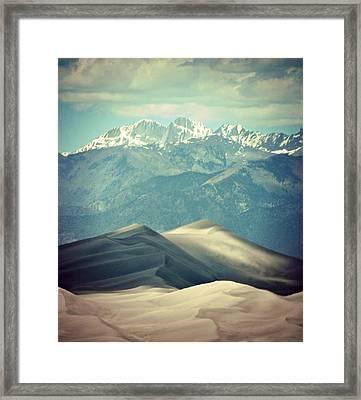 Colorado Great Sand Dune Framed Print