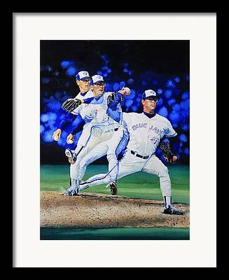 Closer For Toronto Blue Jays Framed Prints