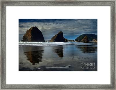 Triple Reflections Framed Print by Adam Jewell