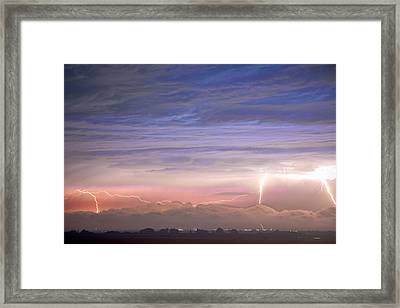 Triple Threat Framed Print