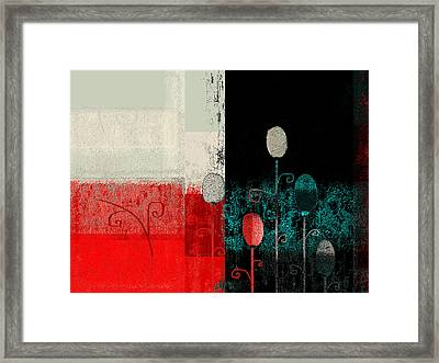Triploflo - 33at11 Framed Print by Variance Collections