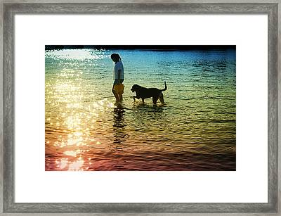 Tripping The Light Fantastic Framed Print by Laura Fasulo