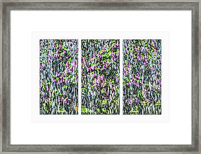 Triptych - Impressionism Of First Water Framed Print