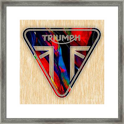 Triumph Cycles Framed Print