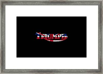Triumph Logo Phone Case Framed Print by Mark Rogan