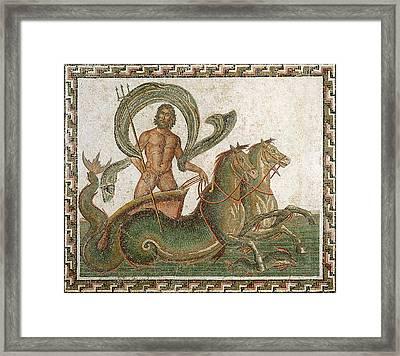 Triumph Of Neptune Framed Print