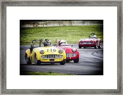 Triumph Racing Framed Print