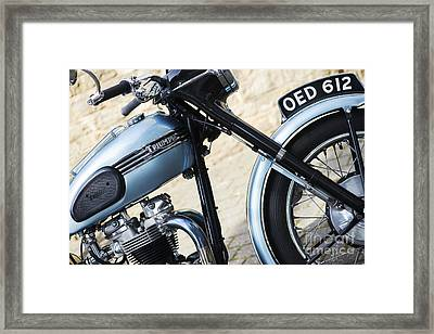 Triumph Tiger T110 Framed Print by Tim Gainey
