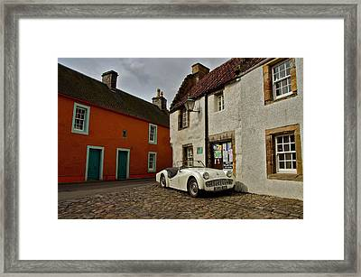 Framed Print featuring the photograph Triumph Tr3 by Stephen Taylor