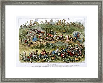 Triumphal March Of The Elf-king Framed Print by British Library