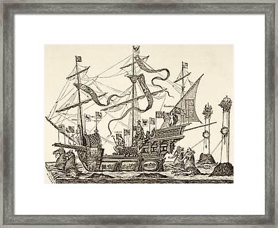 Triumphal Vessel Framed Print