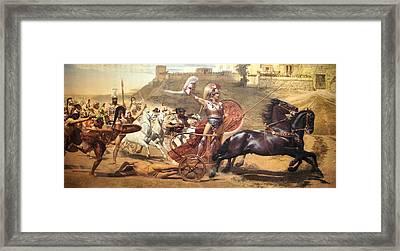 Triumphant Achilles Framed Print