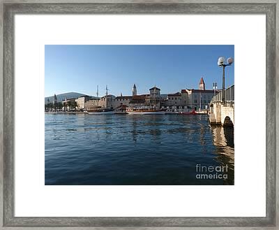Trogir Old Town - Croatia Framed Print