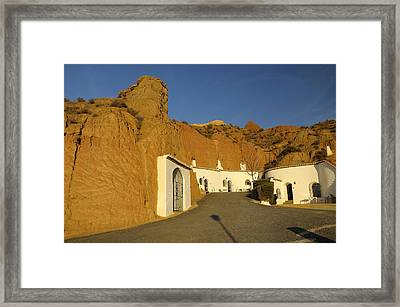 Troglodyte Caves Framed Print by Guido Montanes Castillo